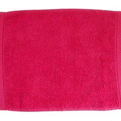 pamut frottír törölköző pink