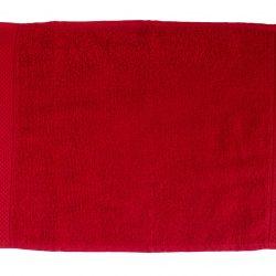pamut frottír törölköző piros