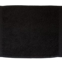 pamut frottír törölköző fekete