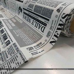 Újságos napilap dekorvászon közel