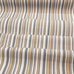CASTOR kültéri barna-szürke csíkos textil C2 hajtott szembe