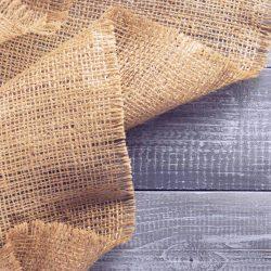 Juta zsákvászon - dekorációs szövet