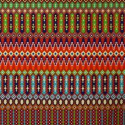 Mexikói mintás dekorvászon 100