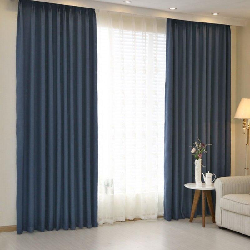 blackout hálószoba függöny kék