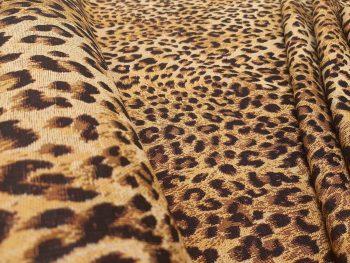 Leopárd mintás bútorszövet 1