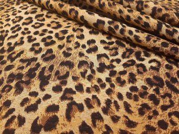 Leopárd mintás bútorszövet 2