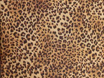Leopárd mintás bútorszövet 5
