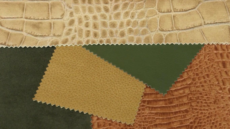 rólunk - állati kárpitok - Krokodil terrakotta