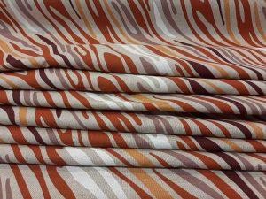 terra zebra hullámos vászon