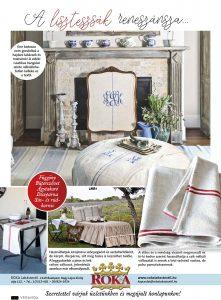 Veranda magazin - RO-KA Lakástextil 2020 08 hó lisztes zsák vászon