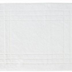 Pamut frottír kádkilépő fehér keretes