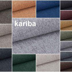 kariba bútorszövet színek montázs