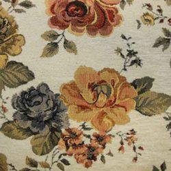Katrin rózsás klasszikus bútorszövet