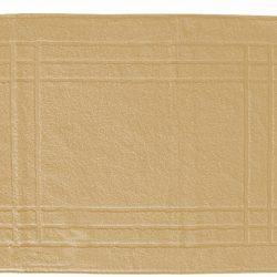 Pamut frottír kádkilépő drapp C0025