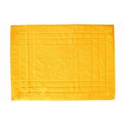 pamut frottír törölköző sárga keretes