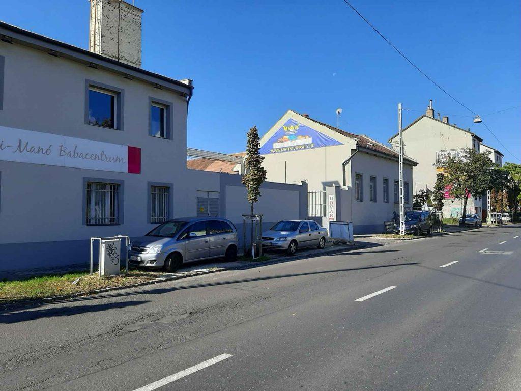 ROKA Lakástextil Nagy Lajos király útja 112 utcakép távoli