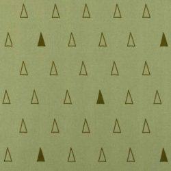 Háromszög fenyő zöld dekorvászon 1000